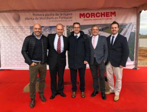MORCHEM COL·LOCA LA PRIMERA PEDRA DE LA PLANTA DE FONTANAR